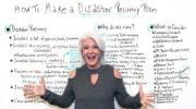 How to Make a Disaster Recovery Plan - Project Management Training