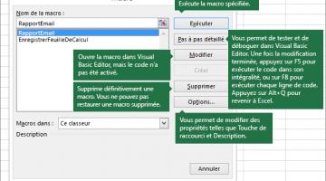 Automatisez des tâches avec l'enregistreur de macros