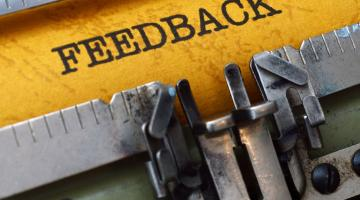 Donner un feedback utile
