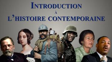 Introduction à l'histoire contemporaine