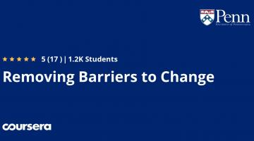 Removing Barriers to Change