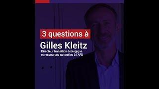 G.Kleitz : enrayer la perte de biodiversité est encore possible