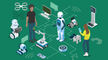 Communicating with Robots and Bots