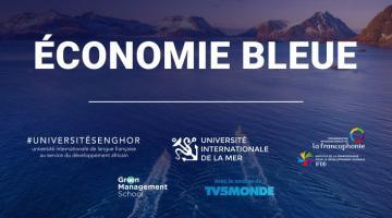 L'économie bleue durable, la maritimisation et l'océan