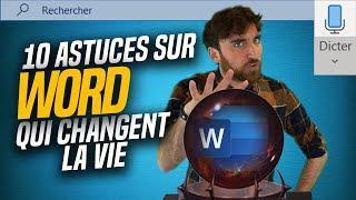 10 ASTUCES SUR WORD qui CHANGENT LA VIE !