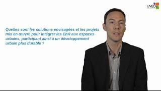 Villes et énergies renouvelables