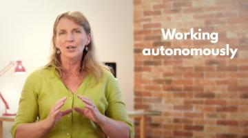 Learn to work autonomously