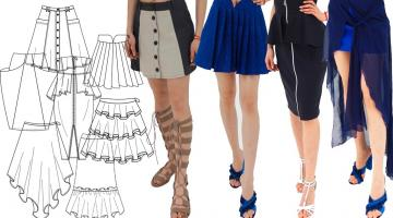 Designing and Creating Skirts