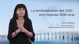 La territorialisation des ODD: vers l'Agenda 2030 local
