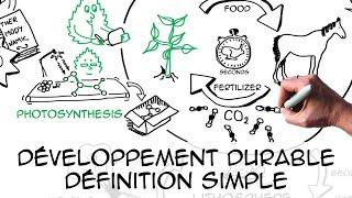 Développement durable: définition simple & scientifique