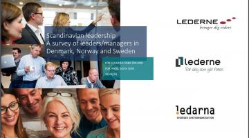 Scandinavian leadership A survey of leaders/managers in Denmark, Norway and Sweden
