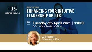 Enhancing Your Intuitive Leadership Skills