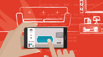 Work with augmented reality (AR) and the web