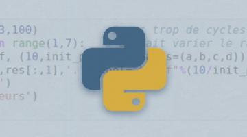 Python pour les scientifiques