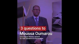 Moussa Oumarou: ILO produces international labor standards that lay down the legal framework
