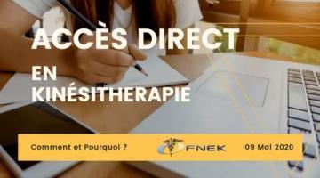 L'accès direct en kinésithérapie