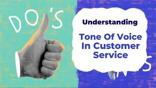 Tone of Voice in Customer Service | Understanding with Unbabel