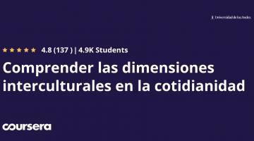Comprender las dimensiones interculturales en la cotidianidad