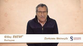 G. Bœuf: S'inspirer du vivant