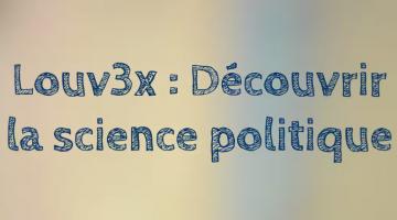 Découvrir la science politique