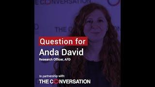 Inequalities | Anda David: the lack of data, a critical issue