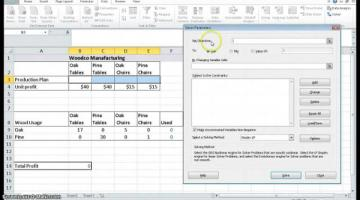 Problem Solving with Excel