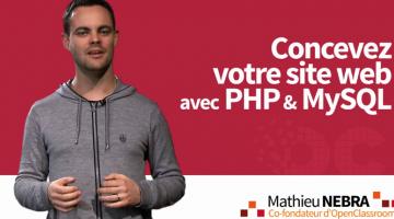 Concevez votre site web PHP et MySQL
