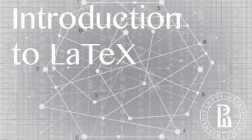 Документы и презентации в LaTeX (Introduction to LaTeX)