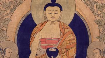 Indian & Tibetan River of Buddhism