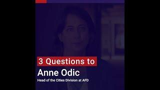 Anne Odic : Cities have a role to play
