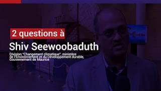 Shiv Seewoobaduth, les enjeux de l'adaptation au changement climatique à Maurice