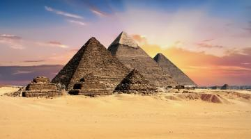 Pyramids of Giza: Ancient Egyptian Art and Archaeology
