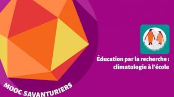 Éducation par la recherche : climatologie à l'École
