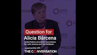 Inequalities | Alicia Bárcena: jobs and cash transfers are the key