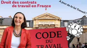 Le droit des contrats de travail en France