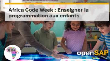 Africa Code Week : Enseigner la programmation aux enfants