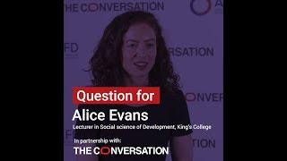 Inequalities | Alice Evans: showing that change is possible