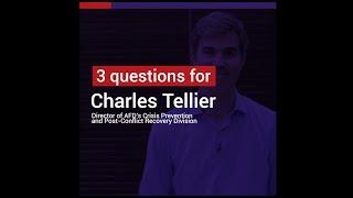 Charles Tellier: the situation of refugees is a major challenge for development