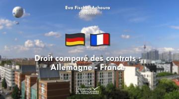 Droit comparé des contrats : Allemagne – France
