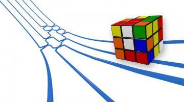 Groupes finis : les mathématiques du Rubik's cube